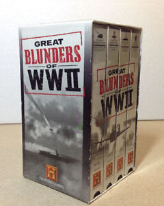 The History Channel's Great Blunders of WW II VHS Cambridge Kitchener Area image 1