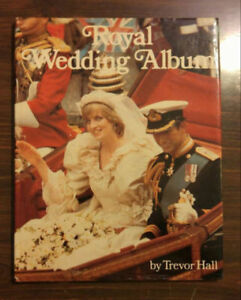 Royal Wedding - Charles and Diana Book - Hardcover