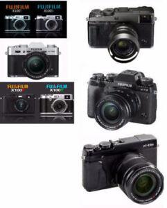wanted fuji fujinon fujifilm x100T XT2 XT20 XPRO2 XE3 camera