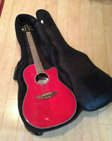 Ovation Electric Acoustic CC24 Guitar and Soft Case