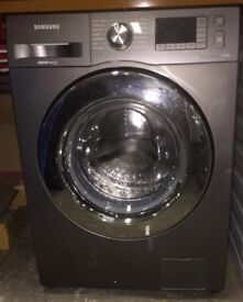 Samsung WF80F5E5U4X 8kg Ecobubble Washing Machine- Graphite