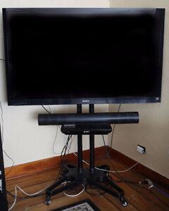 "60"" 3D SONY BRAVIA LED Flatscreen (KDL60EX720) & Stand"