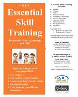 Free Literacy and Essential Skills Training