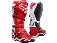 2017 fox motocross boots instinct