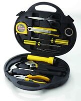 new 11-PIECE BASIC HOME REPAIR TOOL KIT outils
