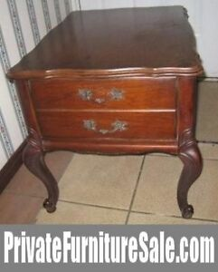 Craftlline SOLID WOOD End Table with large drawer