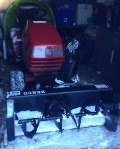 TORO TRACTOR SNOWBLOWER MOWER COMBO