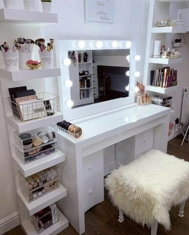 Hollywood Vanity Makeup Mirror With Light Bulbs Cheapest In Uk