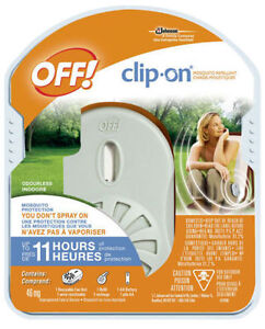 Off! Clip-On® Mosquito Repellent - Fan Kit + Battery Kitchener / Waterloo Kitchener Area image 1