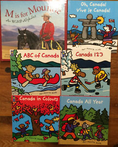 CANADA picture books $3 each or all 6 for $15 London Ontario image 1