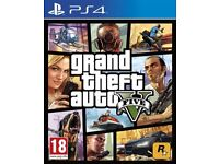 Grand Theft Auto 5 - PS4 Game Playstation 4 GTA V