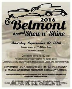 Belmont Annual Show and Shine