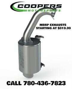 MBRP Exhaust for your Snowmobile, call Coopers Motorsports!