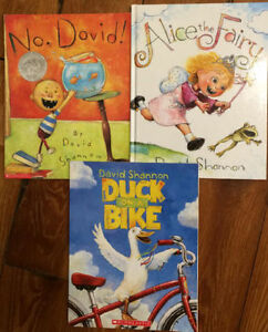 Picture Books by DAVID SHANNON 3 for $10