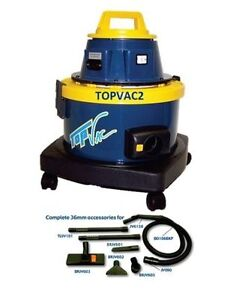 Brand New TopVac2 Dry Commercial Vacuum + FREE ITEMS!