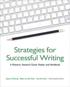 ENG 101/ UPEI 101: Strategies for Successful Writing 6th Edition