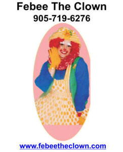 Febee The Clown: Face Painting & Balloon Art in Hamilton