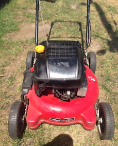 "tondeuse MASTERCRAFT 4.5 HP lawn mower 20"" coupe 20 inches"