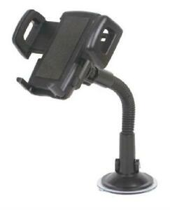 Techly Adjustable Car Mount with Suction Cup