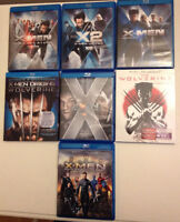 X- Men collection blu ray