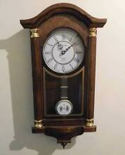 Wall Clock with Westminister Chimes. Battery operated. Newtown Geelong City Preview