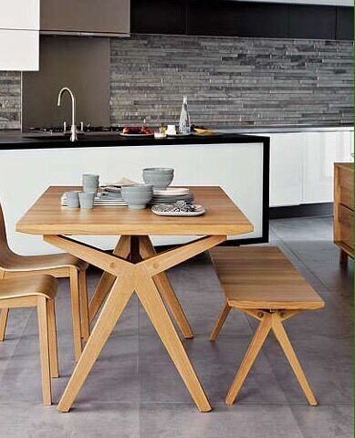 Nice Bethan Gray For John Lewis Noah Oak Dining Table And Bench