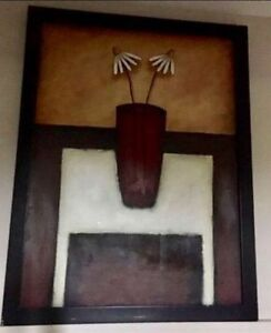 MOVING SALE- WALL ART AUTOGRAHED PICTURE PAINTING