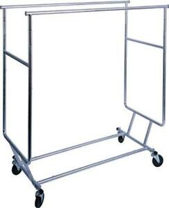 rental for mannequins/rolling racks/ grid panes and fixtures