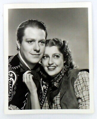 Nelson EDDY / Movie Still Photograph THE GIRL OF THE GOLDEN WEST 1938