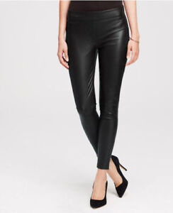 Ann Taylor Leather Skinny Pant Legging *Brand New* with Tag Sz14