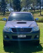 2011 Toyota Hilux KUN26R MY12 SR5 (4x4) Charcoal Grey 4 Speed Automatic Dual Cab Pick-up Oakey Toowoomba Surrounds Preview