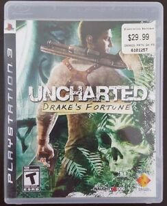 Uncharted 1 Drakes Fortune for PS3