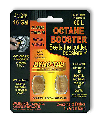 Dyno-tab 45432 HP Octane Booster 2-tab (Dyno Tab)