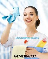 Local European Cleaning (Burlington, Oakville, Milton)