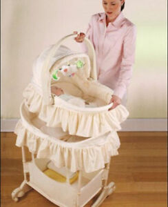 The First Years - Carry-Me-Near  Baby Bassinet