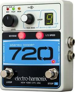 Electro Harmonix 720 STEREO LOOPER with 10 Loops & 12 Minutes Recording Time