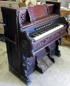 Antique Reed Pump Organ