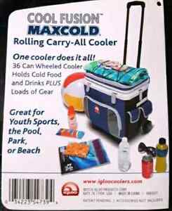 Rolling Cooler with extendable handle  Kitchener / Waterloo Kitchener Area image 5