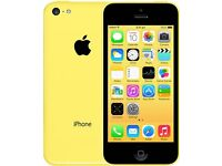 Excellent condition yellow iPhone 5c