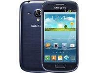 SAMSUNG GALAXY S3 MINI - PEBBLE BLUE - 8GB - UNLOCKED