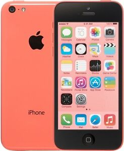 Pink iPhone 5C Locked to Rogers.