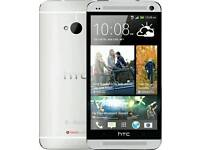 Htc One M7 - 32Gb - Silver - Built in Dre Beats Audios