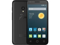 Alcatel one touch /Pixi3 smart phone camera front and back good condition