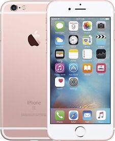 I phone 6s/ rose gold/ 64gb/ unlocked