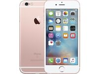 I phone 6s/ rose gold/ 64gb/ unlocked