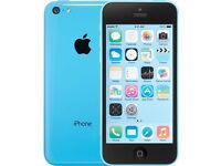 Iphone 5c blue on ee good condition