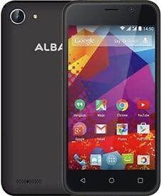 alba android phone dual sim/quad core/8gb new