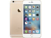 Apple iPhone 6 Plus Gold 64GB Unlocked to any network fully working 6 month guarantee can deliver.