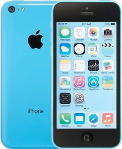 32GB iPhone 5C (Light Blue)