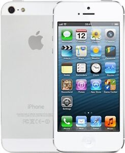 Iphone 5S in White16 GB + Glass Screen Protector $220 Edmonton Edmonton Area image 1